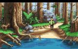 King's Quest VI: Heir Today, Gone Tomorrow Amiga Nice scenery on this isle.