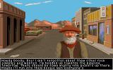 It Came from the Desert Amiga Old prospector on main street.