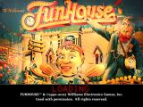 Pinball Hall of Fame: The Williams Collection PlayStation 2 FunHouse loading screen