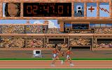The Games '92 - España DOS 800m relay.
