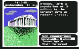 Where in the World is Carmen Sandiego? Commodore 64 Greece.