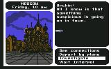 Where in the World is Carmen Sandiego? Commodore 64 Someone tried to knife me!
