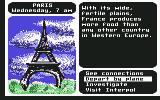 Where in the World is Carmen Sandiego? Commodore 64 France.