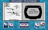 The Games '92 - España DOS The Olympia database contains statistics and information on past games as well as location