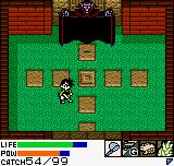 Dark Arms: Beast Buster 1999 Neo Geo Pocket Color The second level boss is a big vampire
