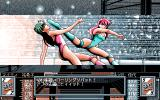 Wrestle Angels V1 PC-98 High kick to the face