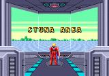 Space Harrier II Genesis stage 1: Stuna Area