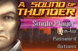 A Sound of Thunder Game Boy Advance The title screen.