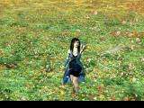 "Final Fantasy VIII PlayStation The famous intro. Rinoa in the flower field... ""I'll be waiting for you"""
