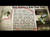 Ghost Town Mysteries: Bodie Windows Newspaper