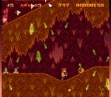 The Adventures of Mighty Max SNES Lava level