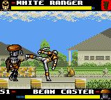 Mighty Morphin Power Rangers: The Movie Game Gear First fight