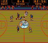 NBA Action Starring David Robinson Game Gear ...and the game