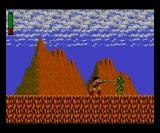 Rastan Game Gear First level