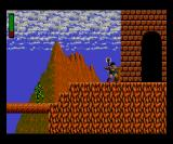 Rastan Game Gear Entrance to the castle