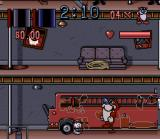The Ren & Stimpy Show: Fire Dogs SNES Stimpy's mission in the Fire Dept begins