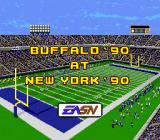 John Madden Football '93: Championship Edition Genesis The stadium before the game.