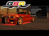 GSR: German Street Racing Windows Main menu (demo version)