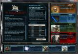 Star Wars: Galaxies - Trading Card Game Windows Main screen of the TCG desktop client