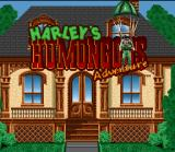 Harley's Humongous Adventure SNES Title Screen
