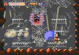 World of Illusion starring Mickey Mouse and Donald Duck Genesis Boss level: giant spider