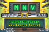"Smashing Drive Game Boy Advance I got a high-score, and I'm putting my init... hold it: ""CONGRATULATION!""? Is this Ghostbusters on the NES?"