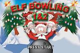 Elf Bowling 1&2 Game Boy Advance Title screen