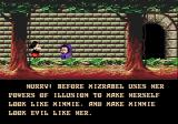 Castle of Illusion starring Mickey Mouse Genesis Yes sir! Mission is clear sir!