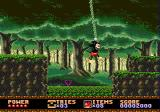 Castle of Illusion starring Mickey Mouse Genesis Swinging