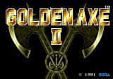 Golden Axe II Genesis Title screen