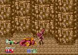 Golden Axe II Genesis Everyone is down in the mountains, even this animals doesn't look so good