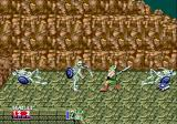 Golden Axe II Genesis On the green grass, I was waving my axe at skeletons