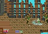 Golden Axe II Genesis Two minotaurs trying to stop the hero