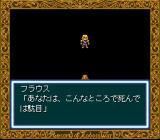 Record of Lodoss War SNES Flaus! No! Don't die...