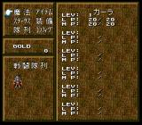 Record of Lodoss War SNES Character information