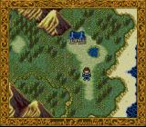 Record of Lodoss War SNES Karla on the world map