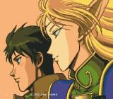 Record of Lodoss War SEGA CD The heroes :)