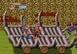 Golden Axe III Genesis Riding a carriage and fighting