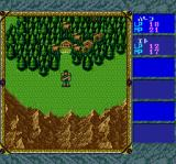 Record of Lodoss War TurboGrafx CD World map
