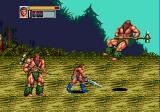 Golden Axe III Genesis Two big nasty guys with hammers