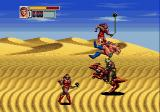 Golden Axe III Genesis Desert: day