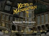 Keys to Manhattan Windows Main menu