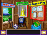 Backyard Soccer MLS Edition Windows Main menu