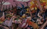 Dangel PC-98 Demons massacre the humans...