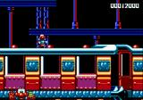 James Pond 2: Codename: RoboCod Genesis Side-scrolling train