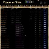 Titans of Time Browser Taking a look at the premium options.