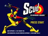 Scud: The Disposable Assassin SEGA Saturn Title (in high resolution)
