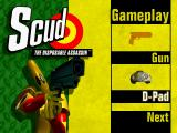 Scud: The Disposable Assassin SEGA Saturn Settings
