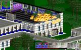 Total Mayhem Windows 3.x Recklessly causing a big explosion, punching a hole through the wall by it