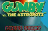 Gumby vs. the Astrobots Game Boy Advance Title screen